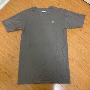 Taupe TNA by Aritzia T-Shirt Dress